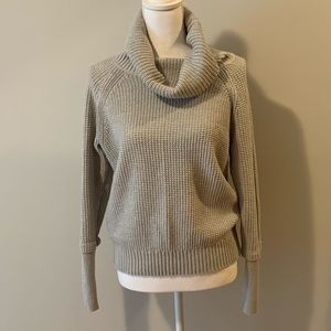 Market and Spruce Thumb Hole Cotton Blend Pullover